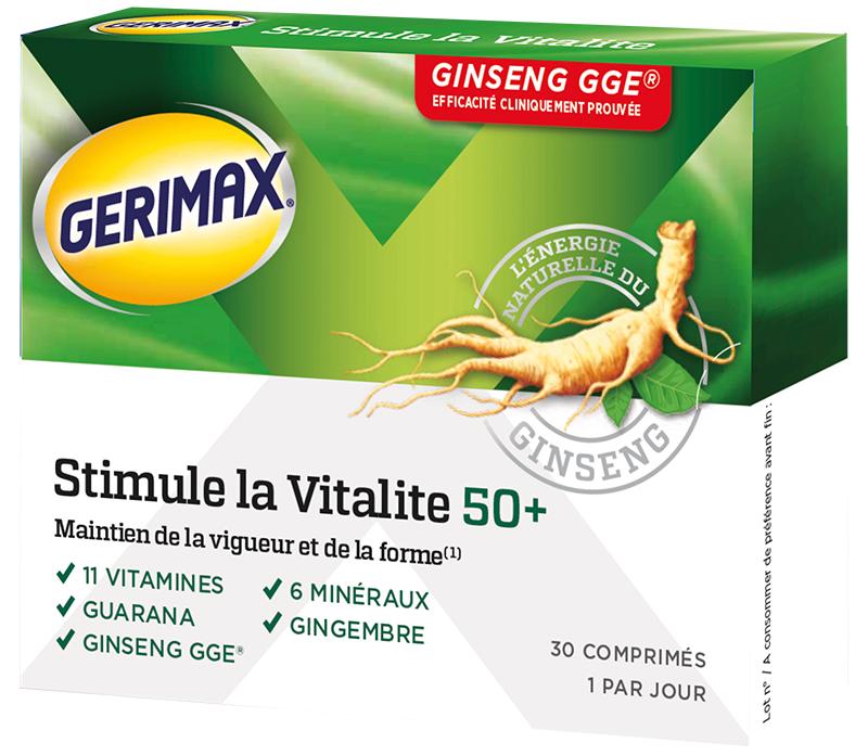 stimule la vitalité 50 ans et plus